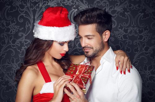 regalo di Natale per l'amante