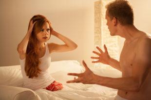 litigare migliora le prestazioni a letto